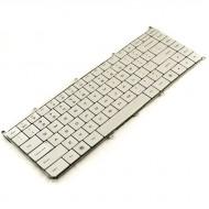 Tastatura Laptop Dell Adamo 13-A101 argintie iluminata