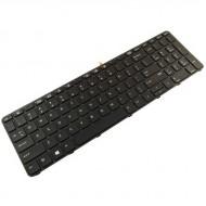 Tastatura Laptop HP ProBook 450 G3 Iluminata Cu Rama