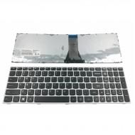 Tastatura Laptop Lenovo G50-70 Cu Rama Argintie