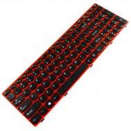 Tastatura Laptop Lenovo Ideapad G580 Cu Rama Rosie