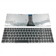 Tastatura Laptop Lenovo Z50-70 Cu Rama Argintie
