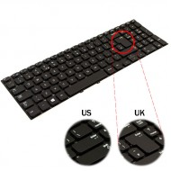 Tastatura Laptop Samsung NP355V5C 15.6 inch layout UK