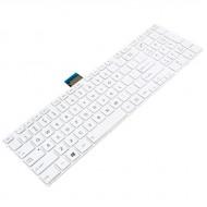 Tastatura Laptop Toshiba Satellite C855 alba cu rama